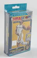 2019-20 NBA Hoops Premium Stock Basketball Hanger Box with (20) Cards at PristineAuction.com