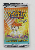 Pokemon TCG Gym Heroes First Edition Booster Pack with (11) Cards at PristineAuction.com