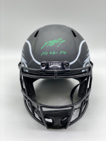 "Michael Vick Signed Eagles Full-Size Eclipse Alternate Speed Helmet Inscribed ""Fly Eagles Fly"" (PSA COA) at PristineAuction.com"