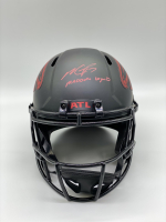 "Michael Vick Signed Falcons Full-Size Eclipse Alternate Speed Helmet Inscribed ""Madden Legend"" (PSA COA) at PristineAuction.com"