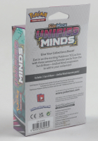 Pokemon Sun & Moon Unified Minds 3-Pack Hanger Box at PristineAuction.com
