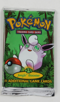 Pokemon Base Set Jungle Booster Pack with (11) Cards at PristineAuction.com