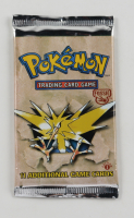 Pokemon Base Set First Edition Fossil Booster Pack with (11) Cards at PristineAuction.com