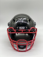 Michael Vick Signed Full-Size Hydro Dipped Chrome Vengeance Helmet (PSA COA) at PristineAuction.com