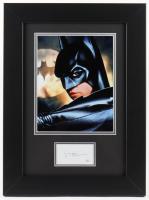 "Val Kilmer Signed ""Batman Forever"" 14x19 Custom Framed Cut Display (JSA COA) at PristineAuction.com"