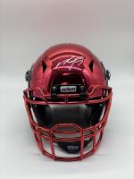 Michael Vick Signed Full-Size Hydro Dipped Chrome Vengeance Helmet (PSA COA) at PristineAuction.com