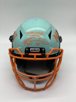 "Ricky Williams Signed Full-Size Hydro-Dipped Vengeance Helmet Inscribed ""Smoke Weed Everyday!"" (Radtke COA) at PristineAuction.com"