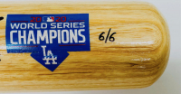 Corey Seager Signed LE Louisville Slugger 2020 World Series Champions Baseball Bat with Multiple Inscriptions (Fanatics Hologram) at PristineAuction.com