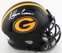 Ahman Green Signed Packers Eclipse Alternate Speed Mini Helmet (Beckett COA) at PristineAuction.com