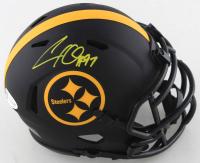 Cameron Heyward Signed Steelers Eclipse Alternate Speed Mini Helmet (Beckett COA) at PristineAuction.com