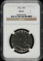 1962 Franklin Half Dollar (NGC PF67) at PristineAuction.com