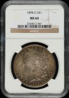 1886 Morgan Silver Dollar (NGC MS64) (Toned) at PristineAuction.com