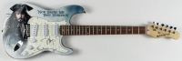 "Johnny Depp Signed ""Pirates of the Caribbean"" 39"" Electric Guitar (JSA Hologram) at PristineAuction.com"