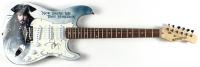 "Johnny Depp Signed ""Pirates of the Caribbean"" 39"" Electric Guitar (JSA Hologram) at PristineAuction.com"