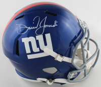 Daniel Jones Signed Giants Full-Size Speed Helmet (JSA COA) at PristineAuction.com