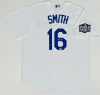 Will Smith Signed Dodgers Jersey with 2020 World Series Patch (Fanatics Hologram) at PristineAuction.com