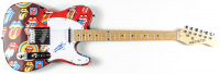 """Keith Richards Signed 39"""" Electric Guitar (PSA LOA) at PristineAuction.com"""