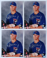 Lot of (4) Jason Arnold Signed Blue Jays 8x10 Photos (Hollywood Collectibles Hologram) at PristineAuction.com