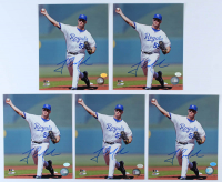 Lot of (5) Gil Meche Signed Royals 8x10 Photos (Hollywood Collectibles Hologram) at PristineAuction.com