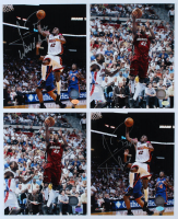 "Lot of (4) James Posey Signed Heat 8x10 Photos Inscribed ""World Champs"" (Hollywood Collectibles Hologram) at PristineAuction.com"