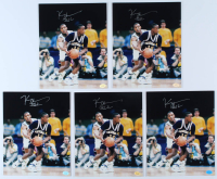 Lot of (5) Kenny Anderson Signed Georgia Tech Yellow Jackets 8x10 Photos (Hollywood Collectibles Hologram) at PristineAuction.com