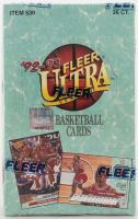 1992-93 Fleer Ultra Series 2 Basketball Box of (36) Packs at PristineAuction.com