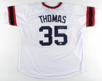 "Frank Thomas Signed Jersey Inscribed ""HOF 2014"" (Beckett COA) at PristineAuction.com"