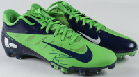 Pair of (2) Russell Wilson Signed Nike Football Cleats (JSA COA & Wilson Hologram) at PristineAuction.com