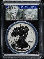 2013-W American Silver Eagle $1 One Dollar Coin - First Strike, West Point Mint Set - Reverse Proof (PCGS PR70) at PristineAuction.com