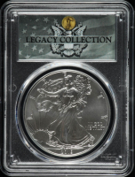2019 American Silver Eagle $1 One Dollar Coin - Magnum Opus - Legacy Collection Label (PCGS MS70) at PristineAuction.com