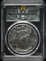 2020 American Silver Eagle $1 One Dollar Coin - Magnum Opus - Legacy Collection Label (PCGS MS70) at PristineAuction.com