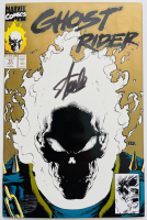 "Stan Lee Signed 1991 ""Ghost Rider"" Vol. 2 Issue #15 Marvel Comic Book (Lee COA) at PristineAuction.com"