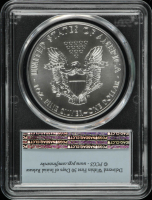 2018-W American Silver Eagle $1 One Dollar Coin, First Strike (PCGS MS70) at PristineAuction.com