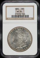 1886 Morgan Silver Dollar (NGC MS64) (Toned) at PristineAuction.com