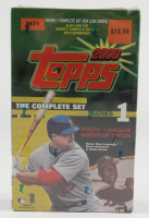 2000 Topps Series 1 Baseball Box of (239) Cards (See Description) at PristineAuction.com