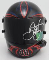 Dale Earnhardt Jr. Signed NASCAR #88 National Guard Mini-Helmet (Dale Jr. Hologram & COA) (See Description) at PristineAuction.com