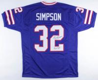 "O.J. Simpson Signed Jersey Inscribed ""H.O.F 85"" (JSA COA) at PristineAuction.com"