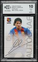 Lionel Messi  2004-05 Panini Barca Campio Catalan #89 (BCCG 10) at PristineAuction.com