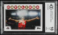 LeBron James 2008-09 Topps #23 (BCCG 10) at PristineAuction.com
