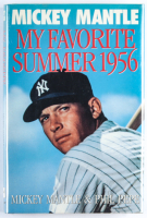 "Mickey Mantle Signed ""My Favorite Summer 1956"" Hardcover Book (JSA ALOA) at PristineAuction.com"