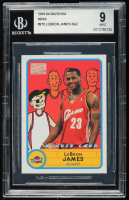 LeBron James 2003-04 Bazooka Mini #276 BAZ (BGS 9) at PristineAuction.com