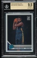 Zion Williamson 2019-20 Donruss Optic #158 RR RC (BGS 9.5) at PristineAuction.com