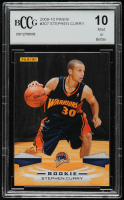 Stephen Curry 2009-10 Panini #307 RC (BCCG 10) at PristineAuction.com