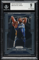 Zion Williamson 2019-20 Panini Prizm #248 RC (BGS 9) at PristineAuction.com