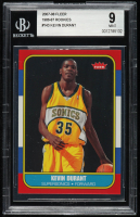 Kevin Durant 2007-08 Fleer 1986-87 Rookies #143 (BGS 9) at PristineAuction.com