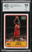 LeBron James 2003-04 Bazooka #223B Away RC (BCCG 10) at PristineAuction.com