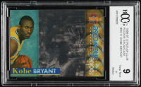 Kobe Bryant 1996-97 Stadium Club Rookie Showcase #RS11 RC (BCCG 9) at PristineAuction.com