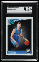 Luka Doncic 2018-19 Donruss #177 RR RC (SGC 9.5) at PristineAuction.com