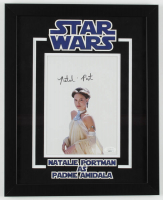 "Natalie Portman Signed ""Star Wars"" 12.5x15.5 Custom Framed Photo Display (JSA COA) at PristineAuction.com"
