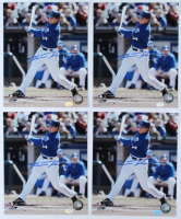 Lot of (4) Mark Teahen Signed Royals 8x10 Photos (Hollywood Collectibles Hologram) at PristineAuction.com